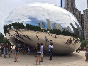 Cloud Gate : a must see thing when in Chicago