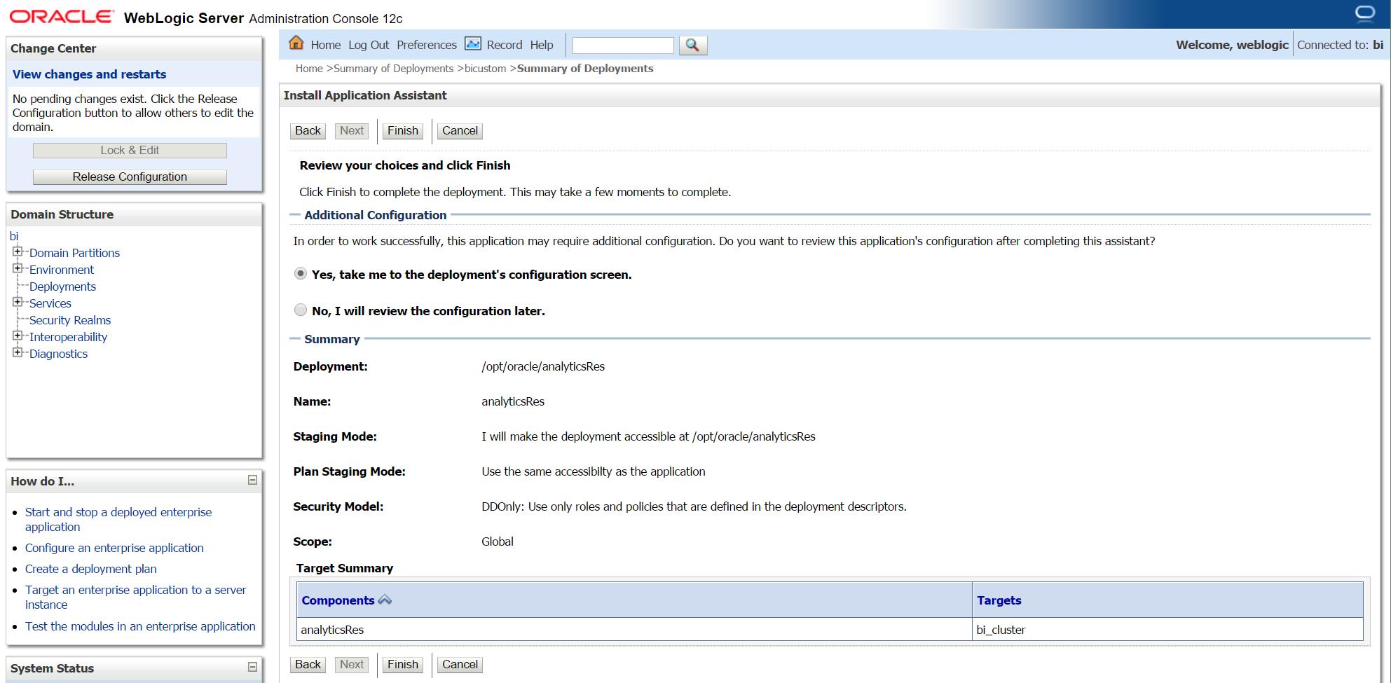 OBIEE 12c Custom Style using shared folder (analyticsRes