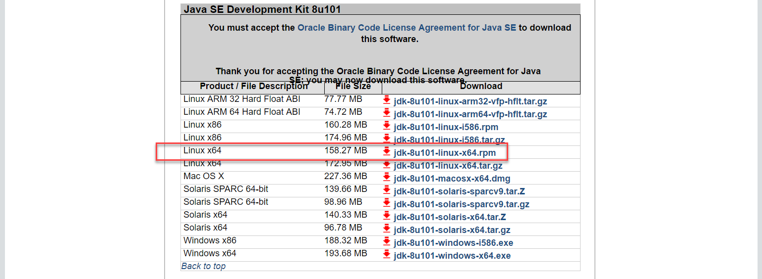 Docker OBIEE12c from scratch: download Oracle JDK