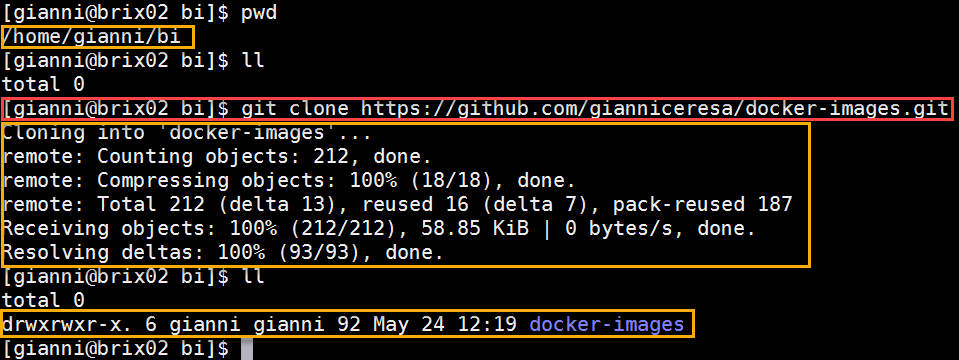 Docker OBIEE12c from scratch: clone OBIEE images from GIT