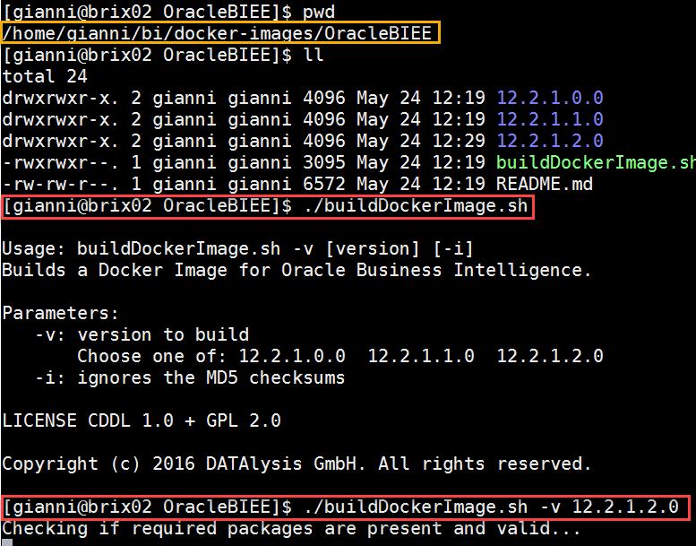 Docker OBIEE12c from scratch: build OBIEE image