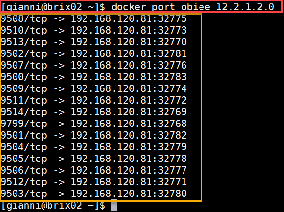 Docker OBIEE12c from scratch: find mapped port for OBIEE