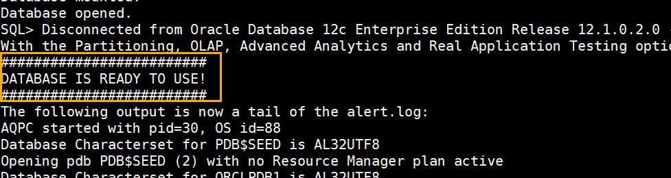 Docker OBIEE12c from scratch: database ready