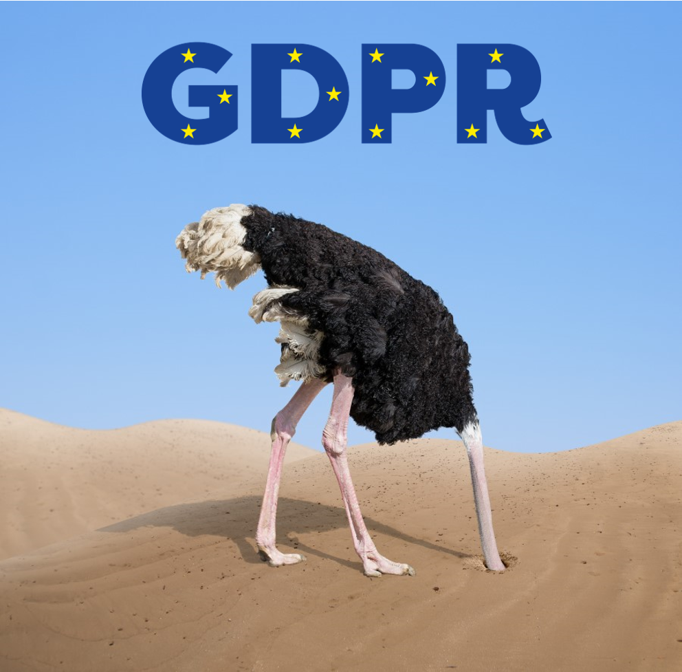 GDPR: ostrich putting your head in the sand or taking the challenge and managing it?