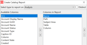 GDPR solution: Catalog Manager reports